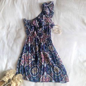 Xhilaration One Shoulder Dress